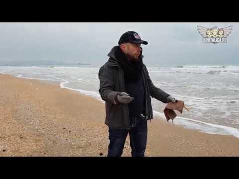 видеонайфи на берегу моря моя скатка ножей сегодня