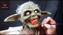 Zombie Yoda Sculpture Timelapse - Star Wars Zombies!