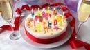 Pastel de cumpleaños / Receta para pastel de chocolate