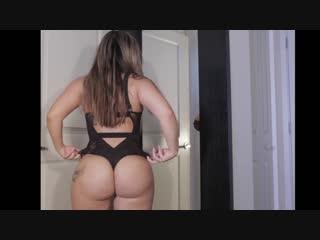 Сочная девушка меряет эротическое бельё, bubble ass butt pussy babe nake tits love girl milf latin pov hip twerk (hot&horny)