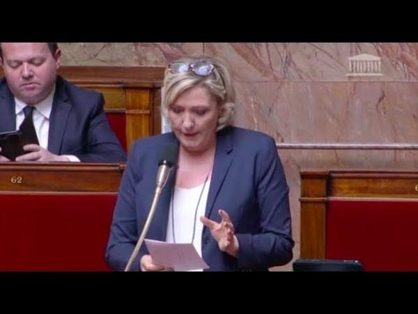 Marine Le Pen dénonce la facilitation de l'accès au marché du travail pour les demandeurs d'asile