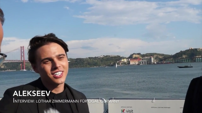 ALEKSEEV Интервью для OGAE Germany, Лиссабон, Португалия (06.05.18)