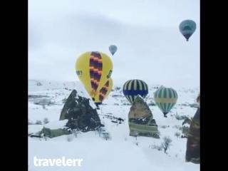 Зима в Каппадокии, Турция