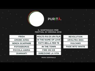 1 demifinale del Festival Di Verona 2018