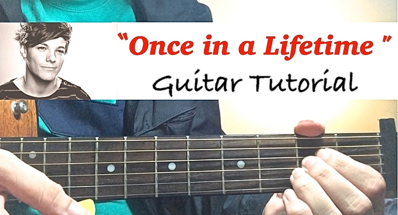 Once In A Lifetime - One Direction | Complete GUITAR TUTORIAL