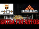 съемная тонировка MOSTEO мостео или каркасные шторки TROKOT трокот