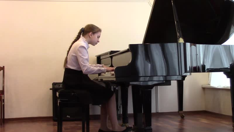 Коваленко Анастасия - (Гайдн) Соната № 52 Соль мажор 1 часть