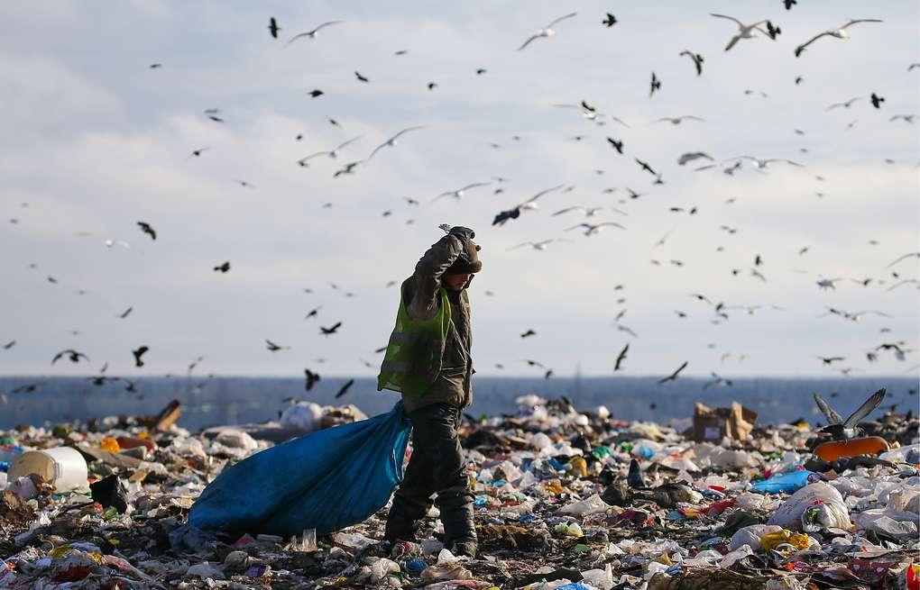 На свалке в Зеленчукской ненадлежащим образом хранятся отходы