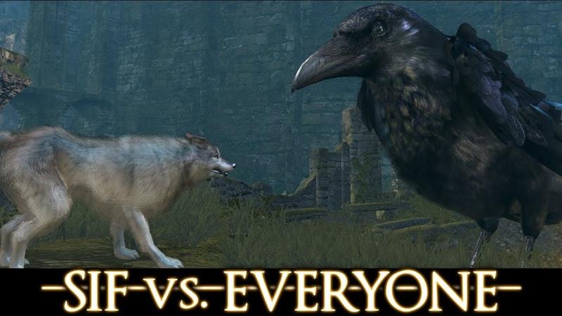 Dark Souls walkthrough SIF vs EVERYONE Part 1