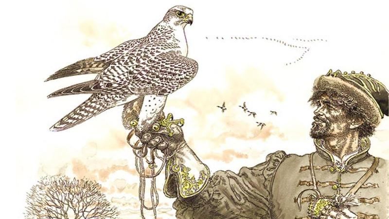 Охота с ловчими птицами (рассказывает орнитолог Алексей Мурашов)