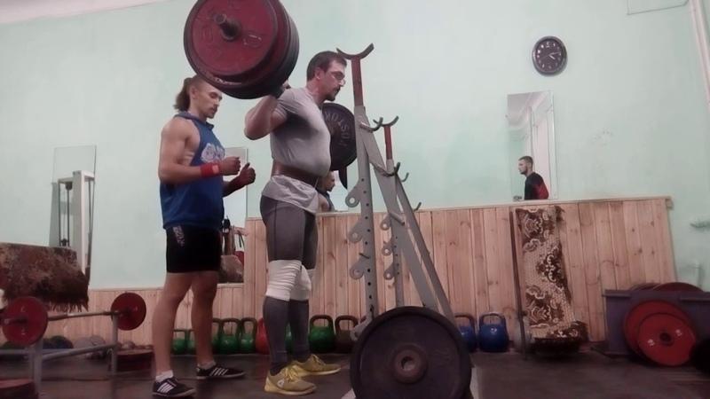 Back squat 190x3