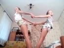 Йога челендж вместе с сестрой. 😘😘😘