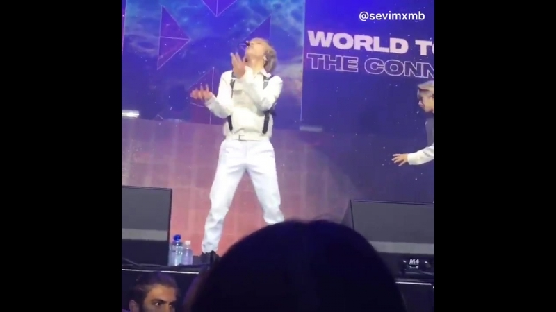 [VK][180620] MONSTA X - Minhyuk sexy dance @ THE 2ND WORLD TOUR 'The Connect' in Amsterdam