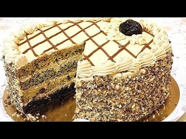 Торт ДАМСКИЙ КАПРИЗ Вкусный домашний торт на сметане.