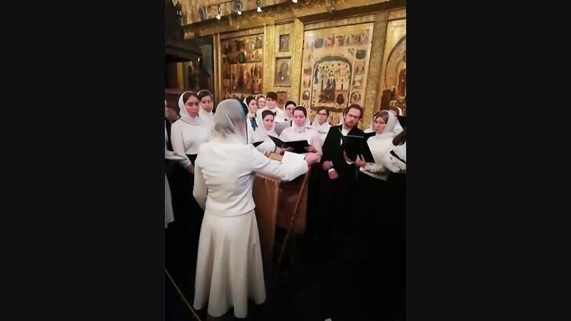 Херувимская хор ПД