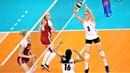 Лучшие моменты США ПОЛЬША ЛИГА НАЦИЙ 2018 Женский волейбол