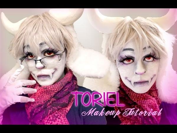 Toriel Makeup Tutorial