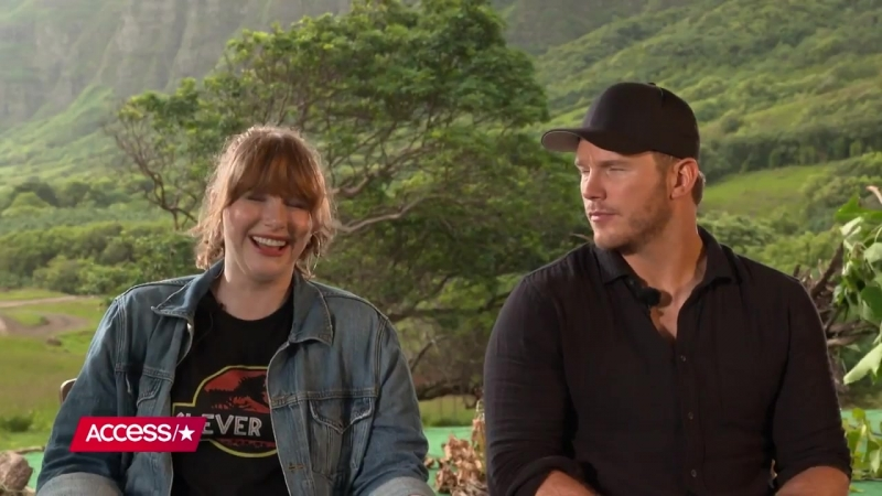 Chris Pratt Recalls Going On A Date To Jurassic Park In 93; Bryce Dallas Howard On Fallen Kingdom