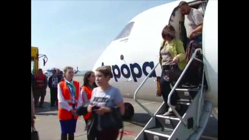 Первый рейс Авроры Хабаровск - Николаевск-на-Амуре