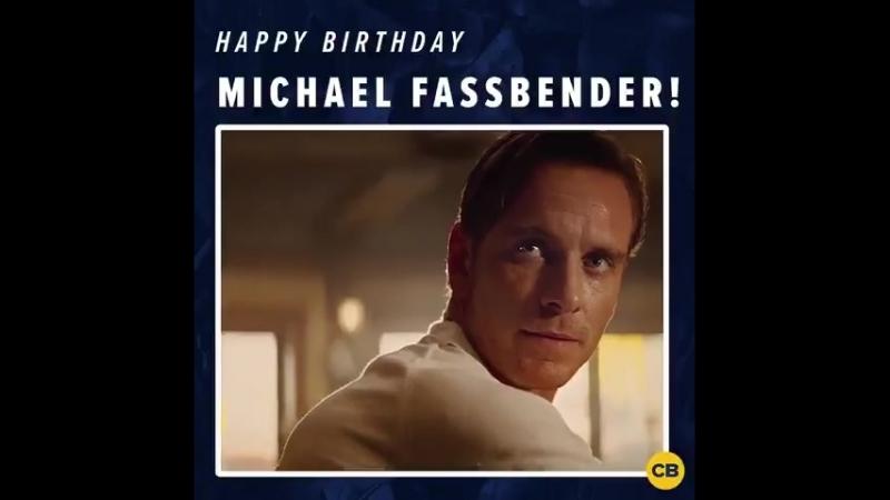 Happy birthday to XMen star MichaelFassbender