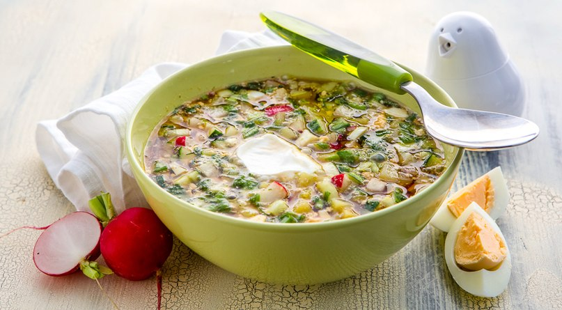 9 рецептов холодных супов