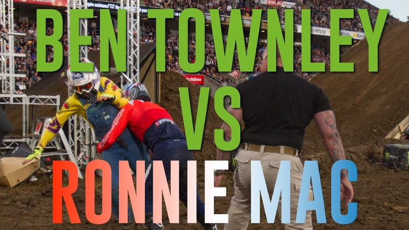 2018 Monster Energy S-X Open Auckland   Ronnie Mac vs Ben Townley