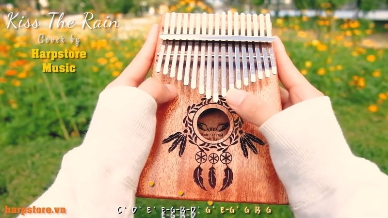 [TABS] Kiss The Rain - Yiruma (Kalimba Cover) | HarpStore Music