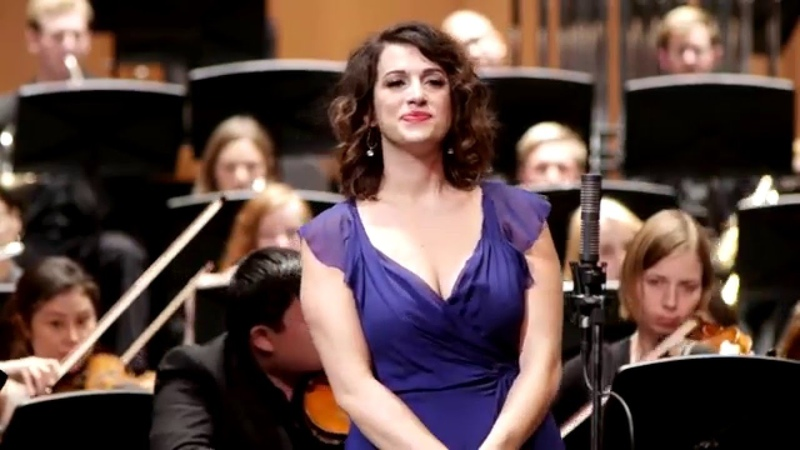 Katherine Giaquinto sings Me llaman la primorosa - Giménez