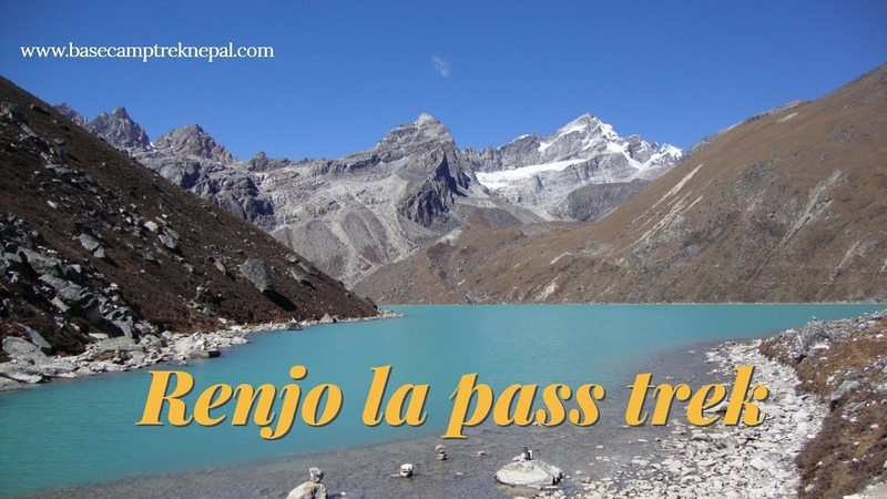 Everest region travel guide for Gokyo Renjo la pass trek Nepal