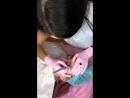 Микроблейдинг в технике powder tap