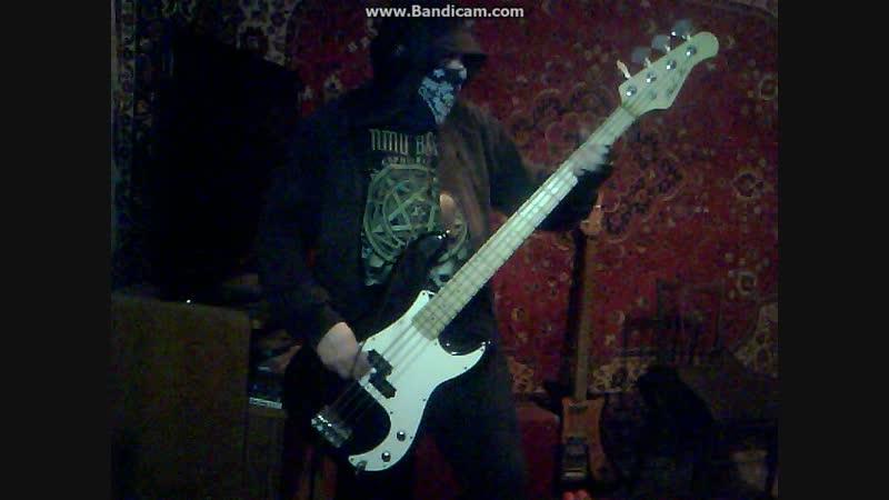 Belphegor-Bleeding Salvation,bass cover