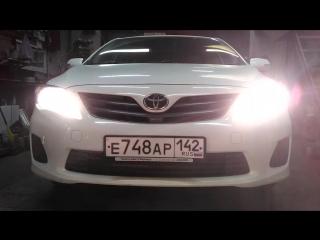 Toyota Corolla 150 ДХО -ПОВОРОТ DRL & Turn Light & 2