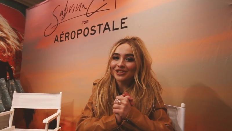 Aéropostale Sabrina Carpenter_ NYC Meet Greet (1)