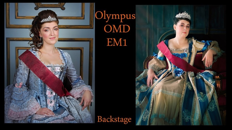 OLYMPUS OM-D - Студия Backstage