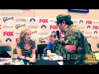 Helen Slater - Funny AMWF Moments @ London Film Comic Con LFCC 2014 - PART 1