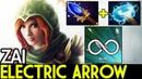 Zai Windranger Endless Electric Arrow 16 Kills 7 19 Dota 2