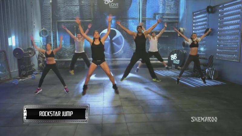 30 Min Fat Burning Cardio Workout - Bipasha Basu Unleash 'Full Routine' - Full Body Workout - YouTube.MP4