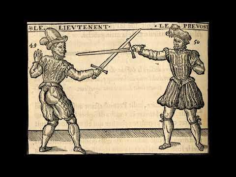 Henry de Sainct Didier. Les secrets du premier livre sur l'espée seule.