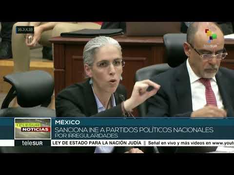México: autoridad electoral impone multa a Morena por irregularidades