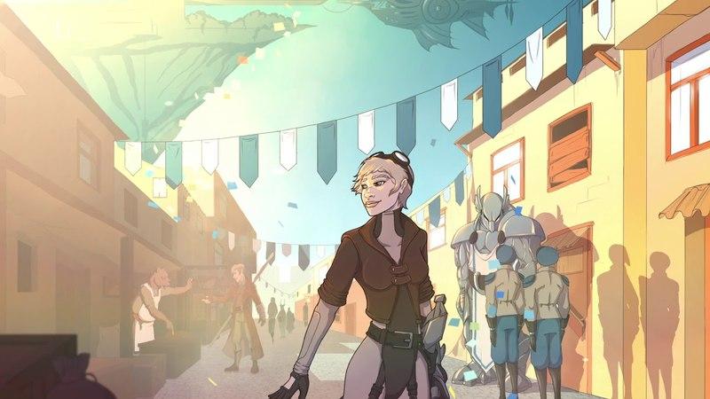 Grimshade — средневековая RPG с техномагией и паровыми машинами