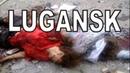 Der Luftangriff auf Lugansk