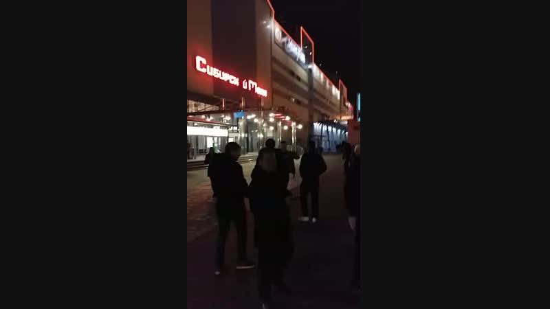 Эвакуация из Сибирского молла