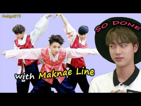 Poor Jin Is Done With Maknae Line 2 (Vminkook)