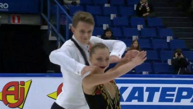 Aleksandra BOIKOVA / Dmitrii KOZLOVSKII RUS Short Program Finlandia Trophy 2018