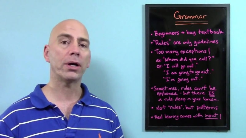 The best way to learn English - Part 3 _ Learning grammar without rules