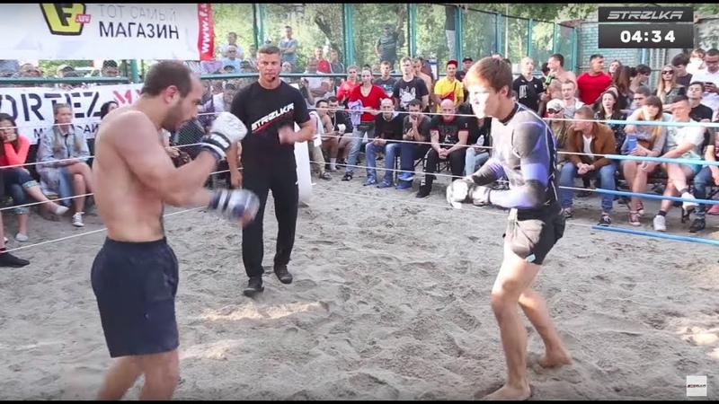 Прездиент Украины против Геркулеса, Стрелка