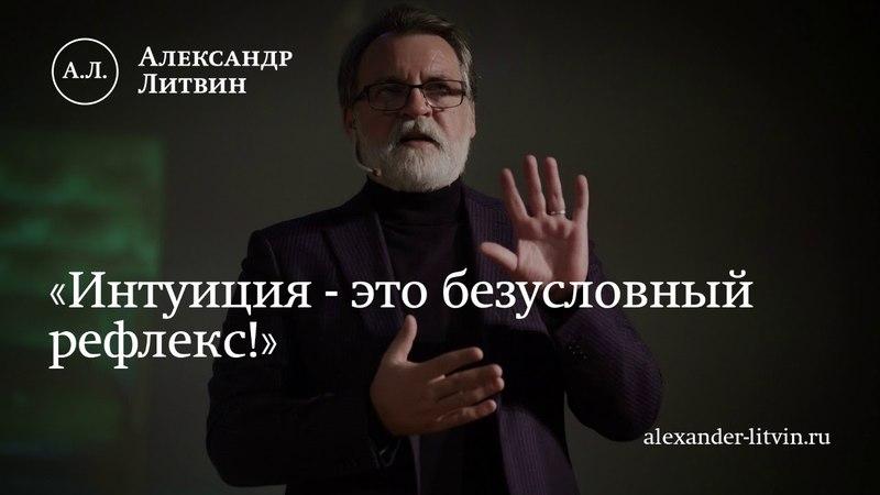 Александр Литвин Интуиция это безусловный рефлекс