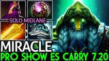 Miracle- Earth Spirit Pro Player Show ES Carry Meta 7.20 Cancer Game Dota 2