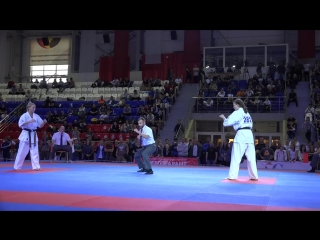 Лучший женский бой 2018 года. Ксения Засорина - Юлия Григорьева (Чемпионат России)