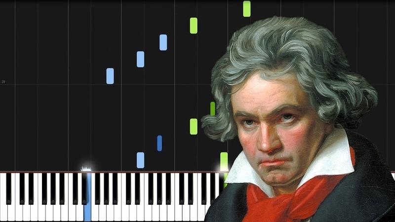 Ludwig van Beethoven - Für Elise (Piano Tutorial) [Synthesia]